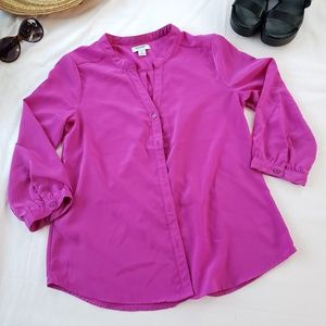 OLD NAVY Posh Purple blouse - XS